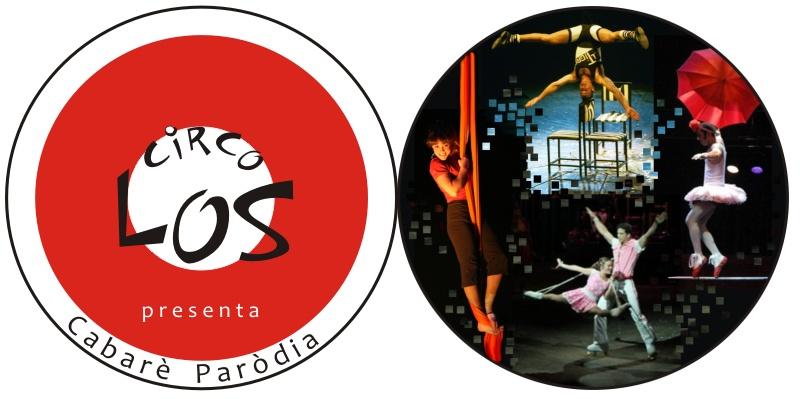 folder eletronico Cabaret Parodia